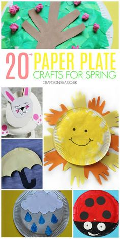 Get ready to make the most of spring with these cute but totally achievable spring paper plate crafts perfect for preschool but great fun for older kids too spring kidsactivities kidscrafts Paper Plate Crafts For Kids, Spring Crafts For Kids, Crafts For Kids To Make, Art For Kids, Spring Crafts For Preschoolers, Kid Art, K Crafts, Preschool Crafts, Arts And Crafts