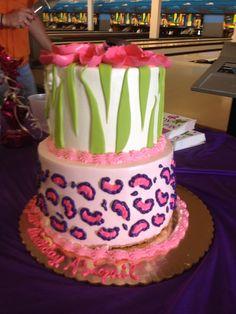 Abby's 10th birthday cake.