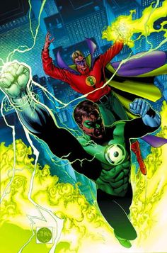 Green Lanterns by Ethan Van Sciver