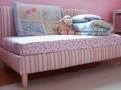 Precious Pink Toddler Daybed