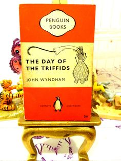 The Day of the Triffids Vintage Penguin Orange by KittysTales