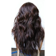 SALE DARK COCOA wig Brown Brunette Natural Hair Cosplay Punk Rock... ($94) ❤ liked on Polyvore featuring beauty products, haircare, hair styling tools, hair, hairstyles, hair styles, cabelos, beauty and curly hair care