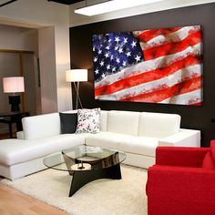 About this product: You get a wonderful decoration element for your apartment with the American Flag Canvas, which will make your interior bright and original. We used a 100% cotton high quality canvas, stretched on a natural wood framework. The image you like, is printed with eco-solvent ink, that is not toxic. You will receive a safe and high-quality organic wall decor, which is fully ready to Hang. Available Sizes: TOTAL SIZE: 24x16 inch | 60x40 cm TOTAL SIZE: 30x20 inch | 75x50 cm…