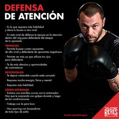 Defensa de atención. #cletoreyes #training #box #workout