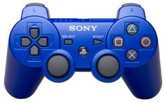 Dual Shock 3 wireless controller For PS3 (Blue)