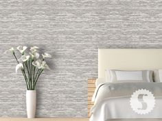 Wall Paper Bedroom Accent Wallpapers 22 Ideas You are in the right place about wallpaper accent wall Accent Wallpaper, Wallpaper Grasscloth, Wallpaper Panels, Textured Wallpaper, Living Room Decor, Bedroom Decor, Bedroom Ideas, Nautical Bedroom, Dining Room