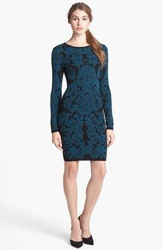 FELICITY & COCO Floral Sweater Dress (Nordstrom Exclusive) on shopstyle.com