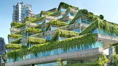 Evergreen Building, Arthur Erickson