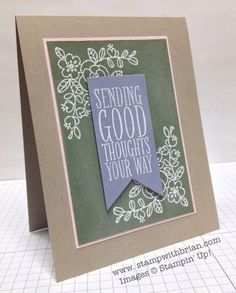 So Very Grateful, Perfect Pennants, Stampin' Up!, Brian King, PP177