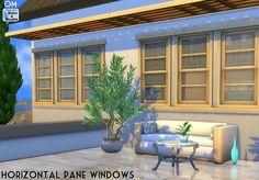 Sims 4 CC's - The Best: Horizontal Pane Windows by OrangeMittens (Sims4Stu...