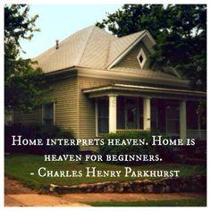 Writing a Living Epistle: Home