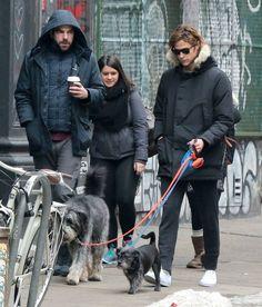 Zachary Quinto Photos - Zachary Quinto & Miles McMillan Walk Their Dogs In New York - Zimbio