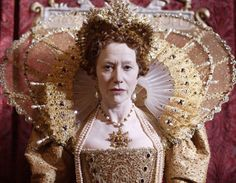 Helen Mirren as Elizabeth I  Costume designer - Mike O'Neill