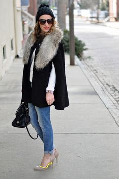 Style Within Reach: My Style: TIME FOR THE FAUX FUR