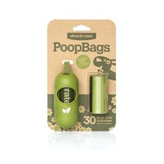 Earth Rated PoopBags Dog Waste Bag Dispenser. Earth Rated bags + dispenser are Miles' favorite. We both love the cool design and that the bags are lightly lavender scented! @Petco #PetcoPlaylist