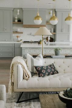 BECKI OWENS- Brio Project Living Room Reveal