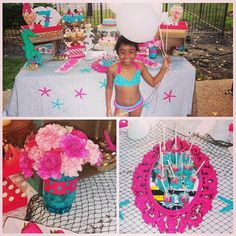 """She went from a paint party to mermaid under the sea party... I'm in love with those flowers they are so beautiful!!!#Event Planner#Houston#events####Love#DecorJunkie#VVD####KidsPartySpecialist########VividVisionDesignz#InteriorDecor"" Photo taken by @vividvisiondesignz on Instagram, pinned via the InstaPin iOS App! http://www.instapinapp.com (10/01/2014)"