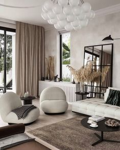 Parisian Chic Decor Ideas For Your Apartment - The Mood Palette - Parisian Decor is the epitome of elegant interior design. It's simple yet chic. Contemporary Interior Design, Home Interior Design, Contemporary Living Room Decor Ideas, Natural Modern Interior, Living Room Decor Elegant, Contemporary Rustic Decor, Italian Interior Design, Modern Contemporary Living Room, Elegant Home Decor