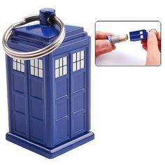 Doctor Who: TARDIS Emergency Fund Keychain | eBay
