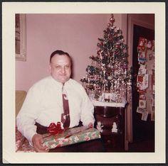 Vintage Christmas snapshot