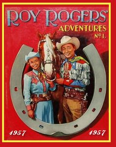 King of the Cowboys Roy Rogers , Queen of the West Dale Evans and Trigger , Do you Remember the name of Dale Evans Horse ??? Fuzzy