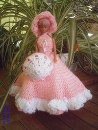 Voici les explicatione de la poupée de Marion - Brides et Mailles
