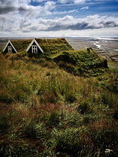 Böltí Farmhouse. Skaftafell, Iceland.