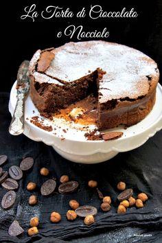 torta rustica di cioccolato e buon compleanno Ale