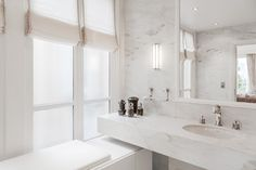 Appartement de Luxe - Triangle d'Or, Paris contemporain-salle-de-bain
