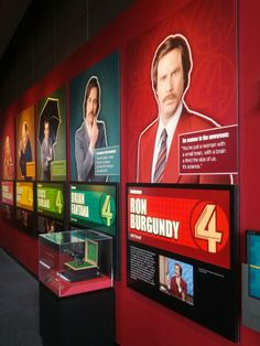 Newseum - Anchorman: The Exhibit in Washington DC, D.C.