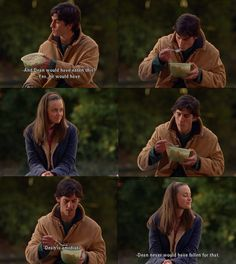 Gilmore Girls - Alexis Bledel and Milo Ventimiglia