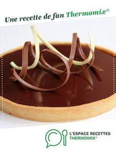 Succulente tarte au chocolat par philjulie. Une recette de fan à retrouver dans la catégorie Desserts & Confiseries sur www.espace-recettes.fr, de Thermomix®.