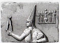 Boğazköy (Pterium) Bas-relif Carved into rock. The Dance of the Sacaea (Charles Texier) Erdinç Bakla archive)