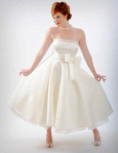 my personal choice... Tea Length Wedding Dresses Plus Size