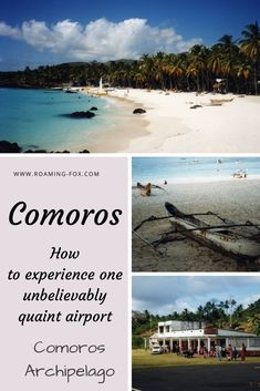 How to experience one unbelievably quaint airport in Comoros - Moheli to Grande Comores. Travel Around The World, Around The Worlds, Destin Beach, Throughout The World, Africa Travel, Archipelago, Great View, Holiday Destinations, Scuba Diving