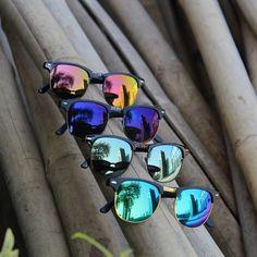 Trendy Half Framed Clubmaster Unisex Goggles