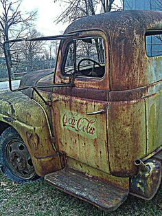 Old coke delivery truck