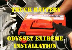 How to Replace Install new ODYSSEY EXTREME BATTERY PC1230 on HUMMER H3