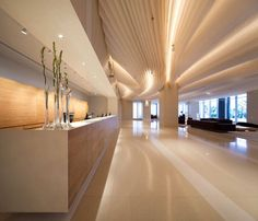 Hilton Pattaya by Department of Architecture. #Hospitality #Lobby #Ceiling