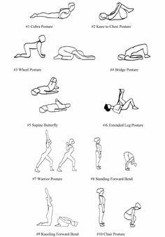 21 Best Low Back Pain Exercises Patient Handout Images In