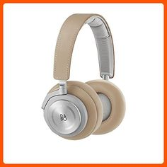 B&O PLAY by Bang & Olufsen Beoplay H7 Over-Ear Wireless Headphones, Natural - Fun stuff and gift ideas (*Amazon Partner-Link)