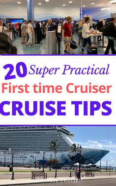 Cruising for the first time? Here are 20 practical and important cruise tips you absolutely need to know. #cruise #cruisetips #cruises Cruise Excursions, Cruise Destinations, Cruise Port, Cruise Travel, Cruise Vacation, Cruise Ship Reviews, Best Cruise Ships, Packing List For Cruise, Cruise Tips