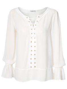 Blusa Feminina Gabriela - Le Lis Blanc - Off White - Shop2gether