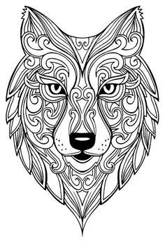 Mandalas De Animales Para Ninos Faciles Imprimir Y Colorear