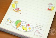 Cahier carnet kawaii illustré - Bananya authentique - Boutique kawaii www.chezfee.com