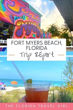 Read all about our 5 days in Fort Myers Beach! I share all about our Fort Myers vacation and restaurant and attraction recommendations in this trip report #fortmyers #swflorida #fortmyersbeach Places In Florida, Visit Florida, Florida Vacation, Fort Myers Florida, Fort Myers Beach, Travel With Kids, Family Travel, Florida Travel Guide, Vacations In The Us