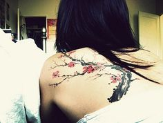 Cherry Blossom Tattoo ♥
