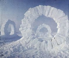 Andy Goldsworthy, Touching North, North Pole, 1989