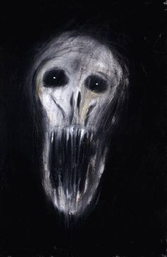 A painting by one of my all time favorite artists, Mr. Clive Barker. I love his art as much as his literature.