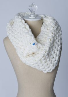 Cream Infinity Soulscarf- with proceeds going to a charity of your choice